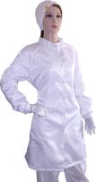 Антистатический женский халат DOKA-I003-ВС