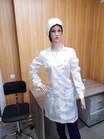 Антистатический женский халат DOKA-I003