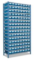 Cтеллаж металлический DOKA-401 с лотками