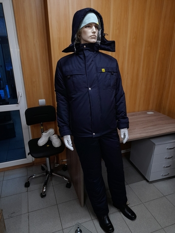 Антистатический утепленный костюм DOKA-НК