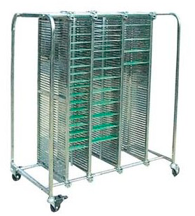 Транспортная тележка DOKA-A023 M ESD для чистых помещений