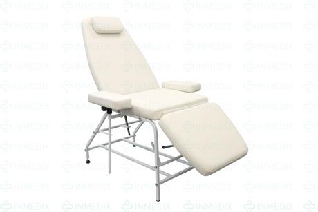 Косметологическое кресло с подлокотниками КР-17 (п)